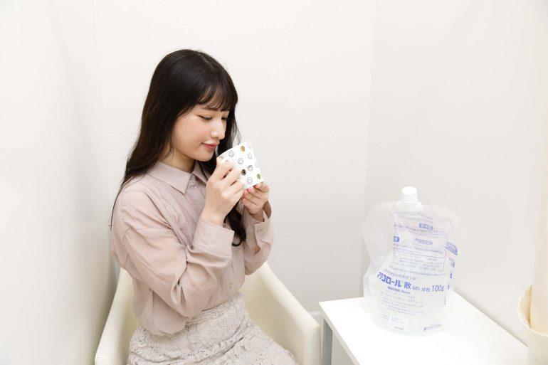 院内で下剤の服用可能